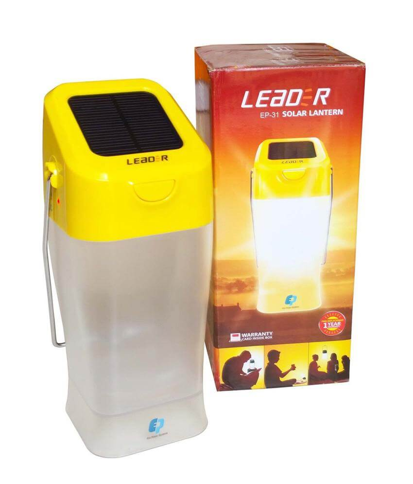 Leader EP 31 Solar Lantern