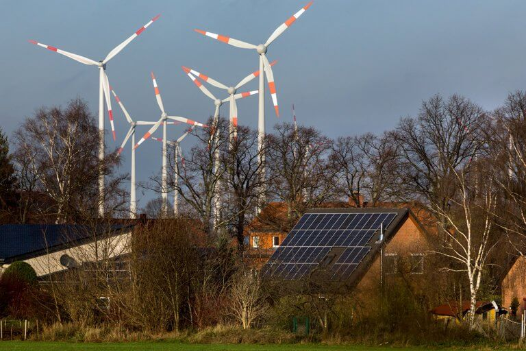 This Christmas People got paid to consume electricity in Germany